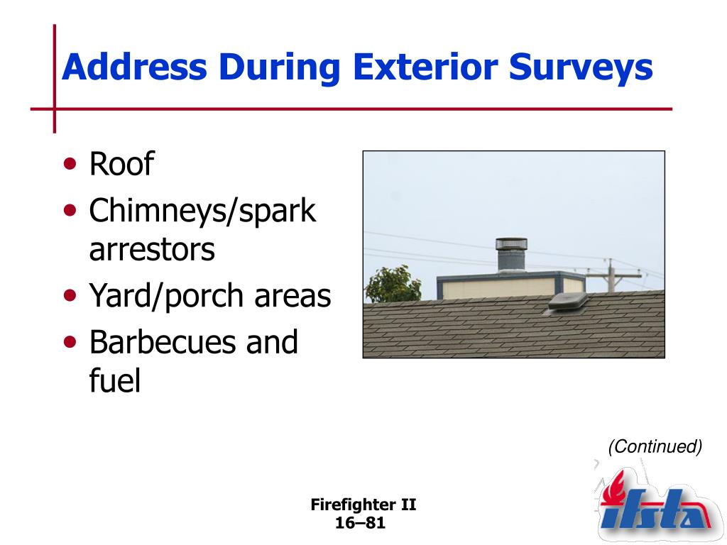 Address During Exterior Surveys