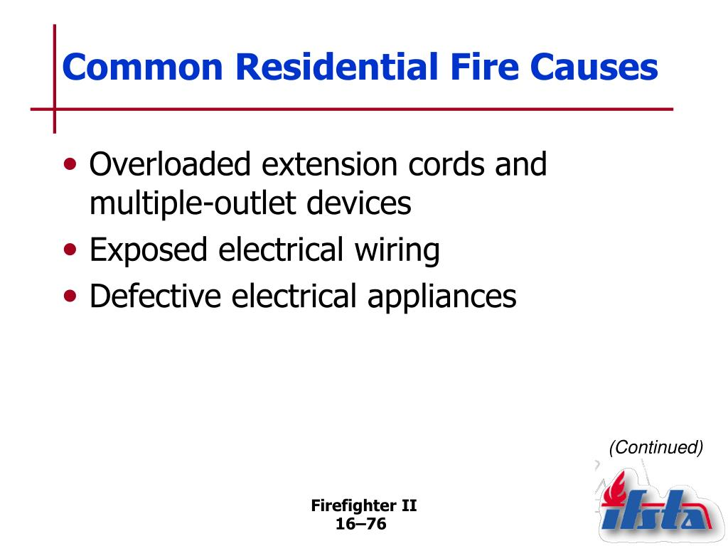 Common Residential Fire Causes
