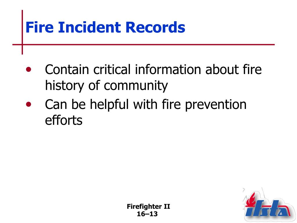 Fire Incident Records