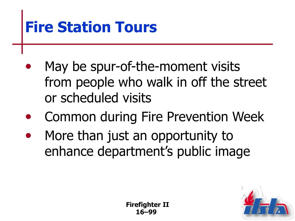Fire Station Tours