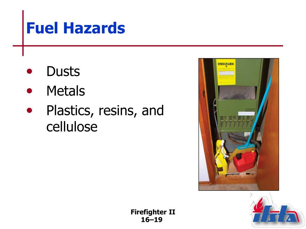 Fuel Hazards