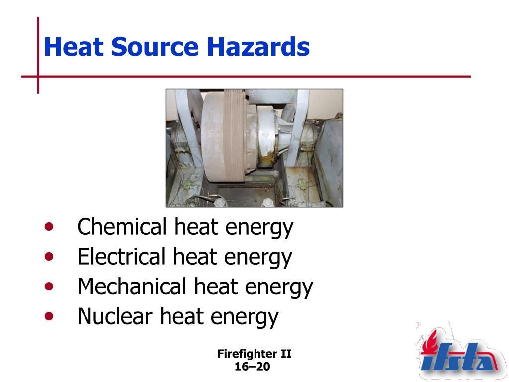 Heat Source Hazards