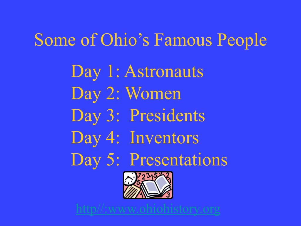 Some of Ohio's Famous People