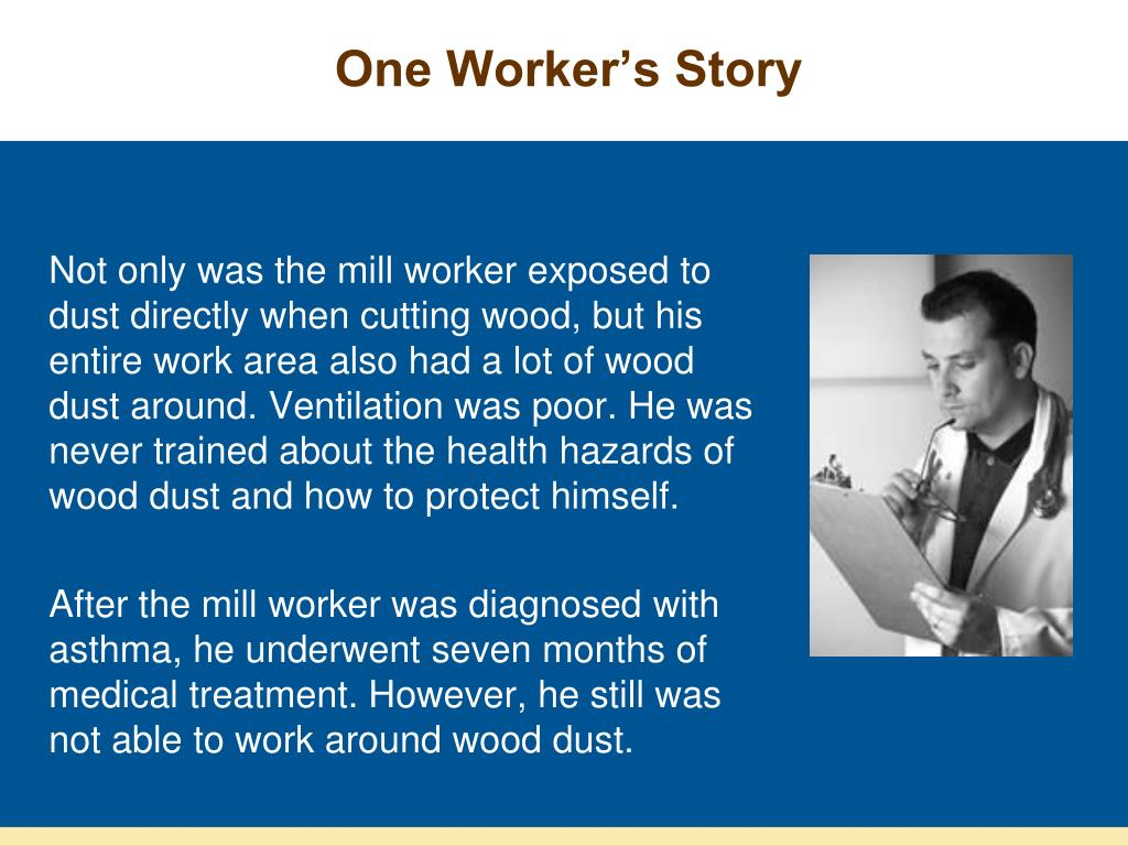 One Worker's Story
