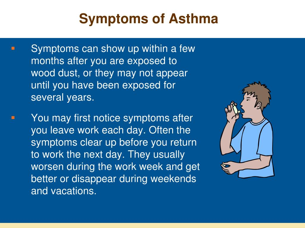 Symptoms of Asthma