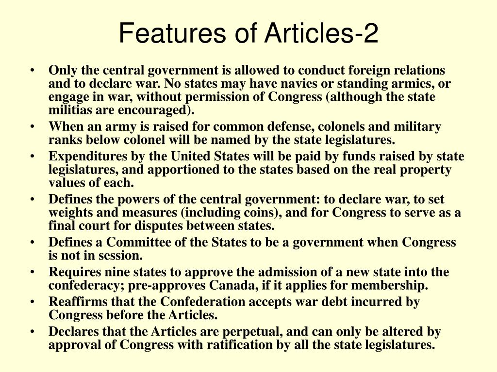 Features of Articles-2
