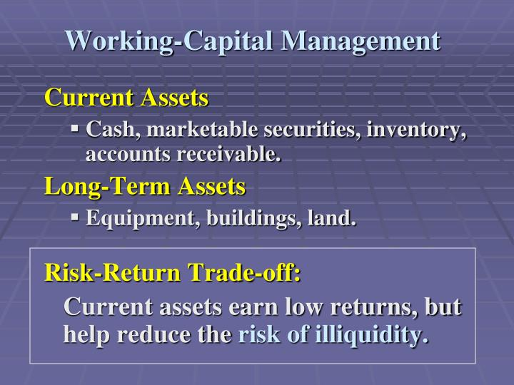 Working capital management3