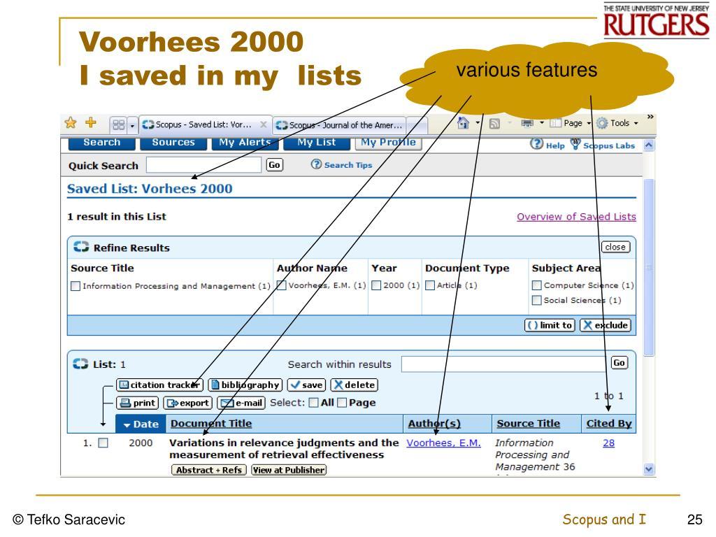Voorhees 2000