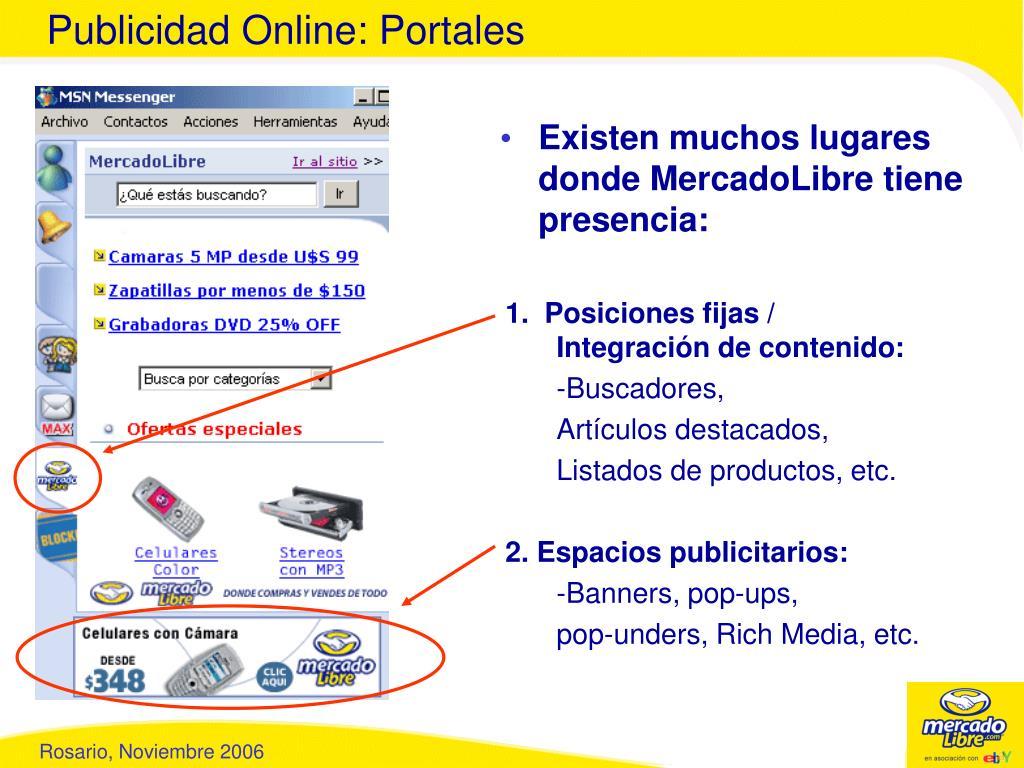 Publicidad Online: Portales