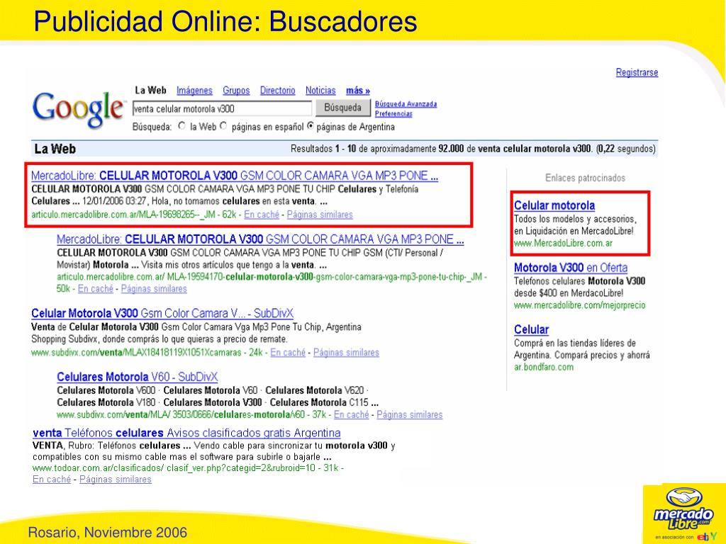 Publicidad Online: Buscadores