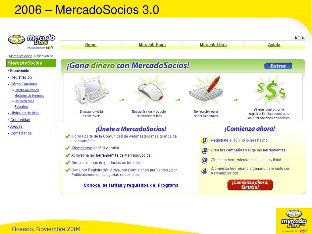2006 – MercadoSocios 3.0