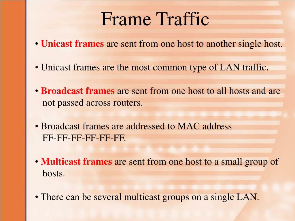 PPT - Chapter 4: Managing LAN Traffic PowerPoint