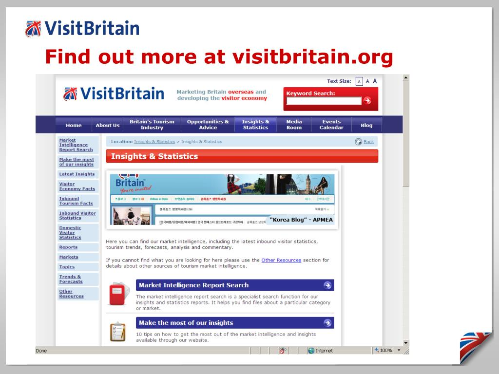 Find out more at visitbritain.org