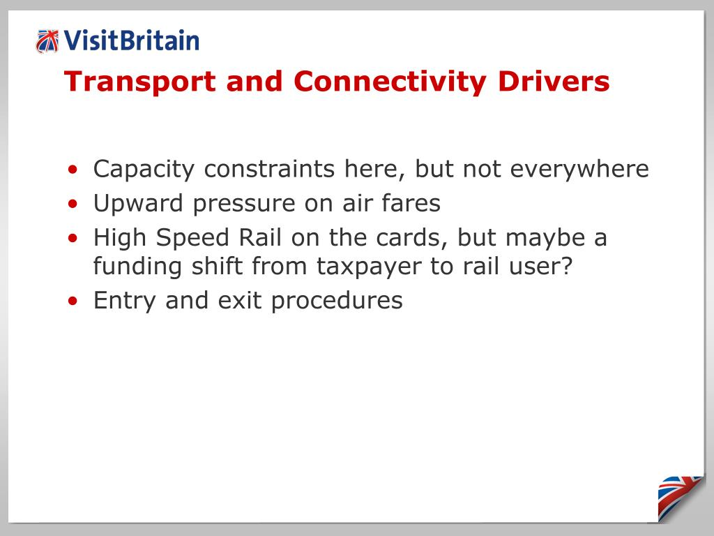 Transport and Connectivity Drivers