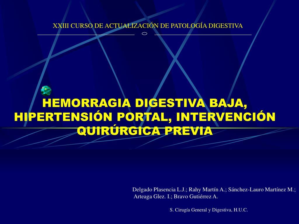 Clasificación de gastropatía hipertensiva portal