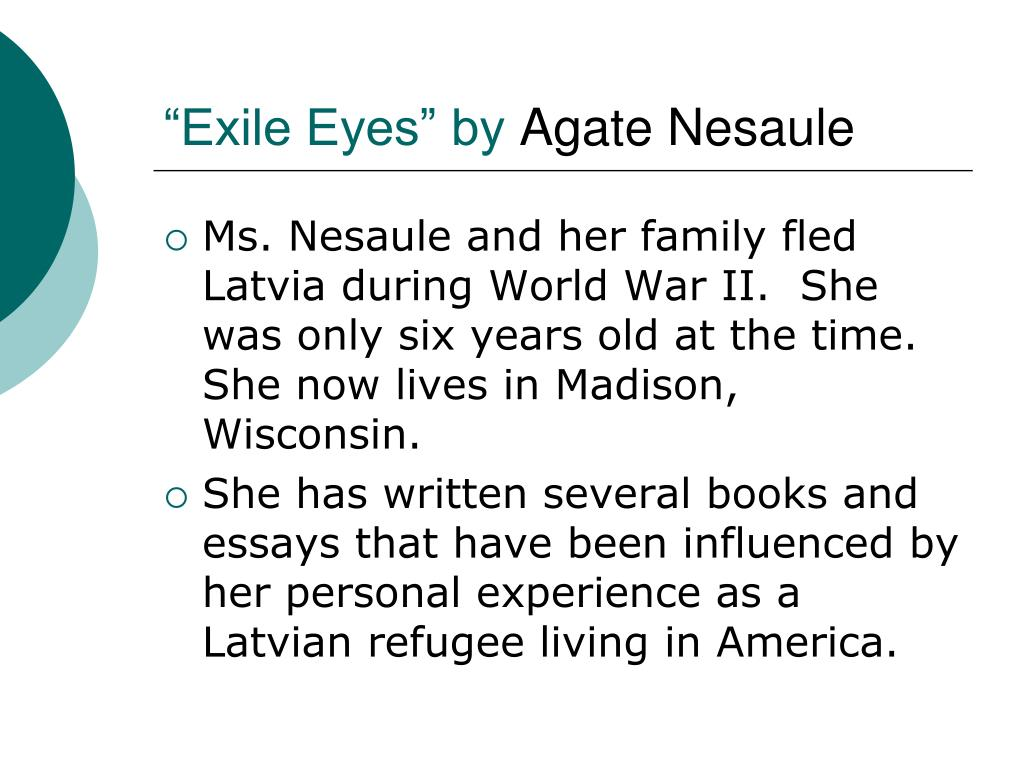 """""""Exile Eyes"""" by"""