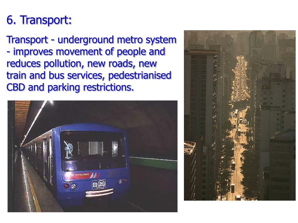 6. Transport: