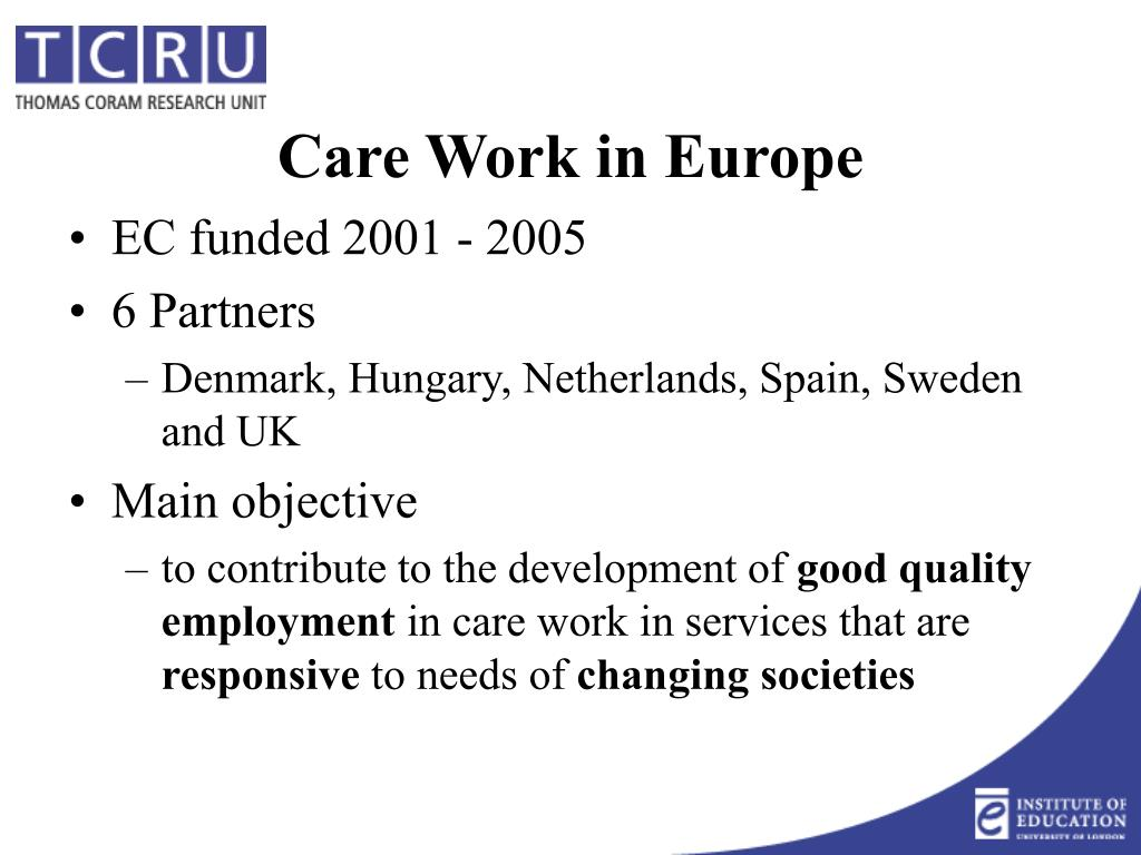 EC funded 2001 - 2005