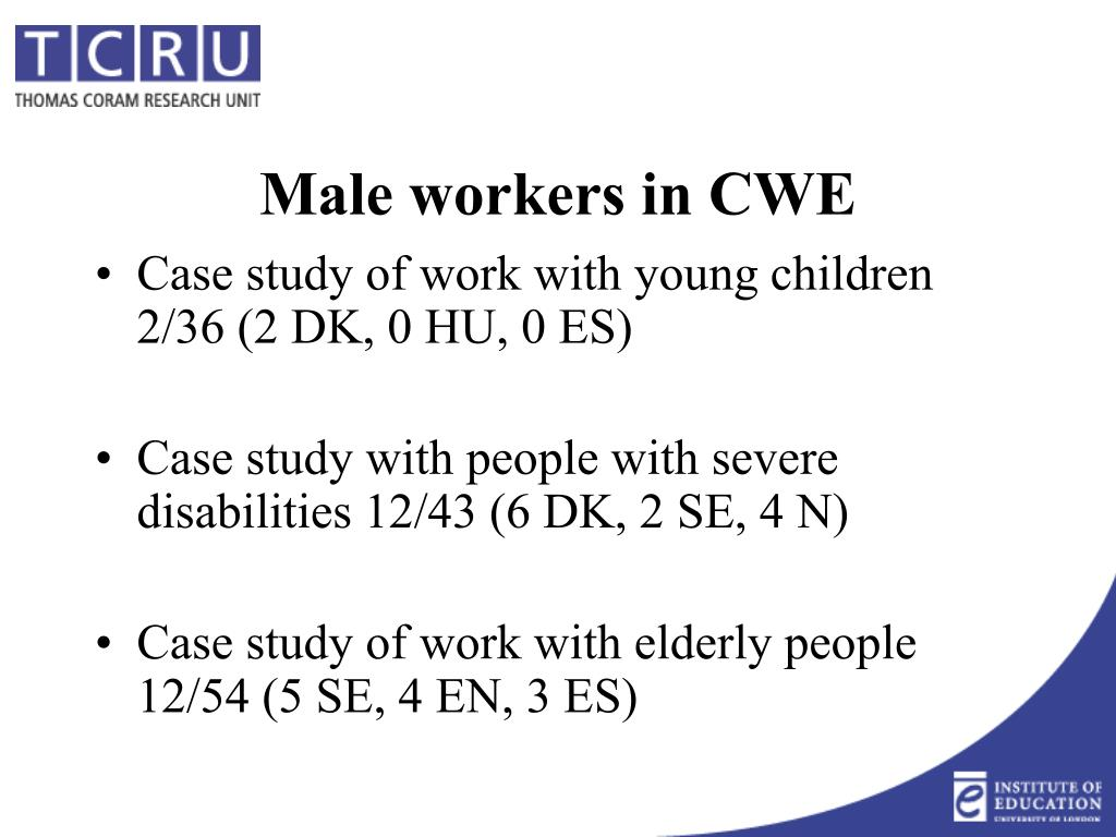 Case study of work with young children 2/36 (2 DK, 0 HU, 0 ES)