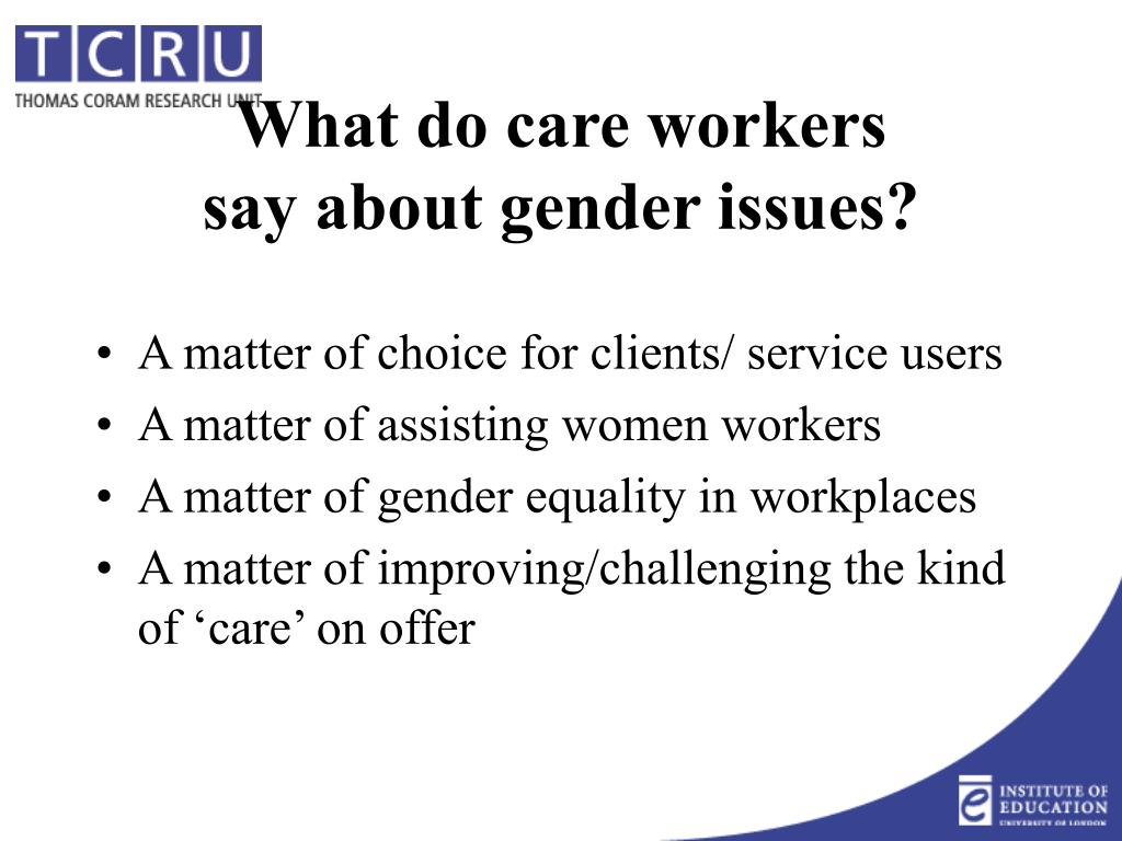 A matter of choice for clients/ service users