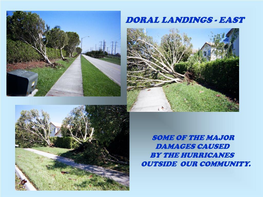 DORAL LANDINGS - EAST