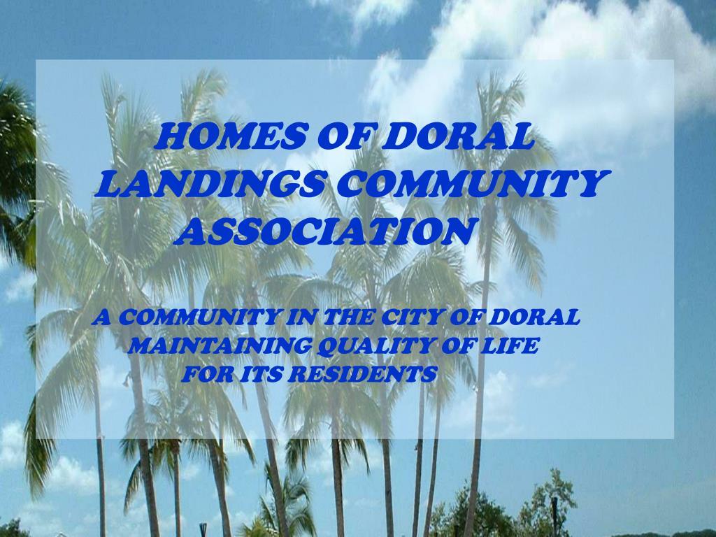 HOMES OF DORAL