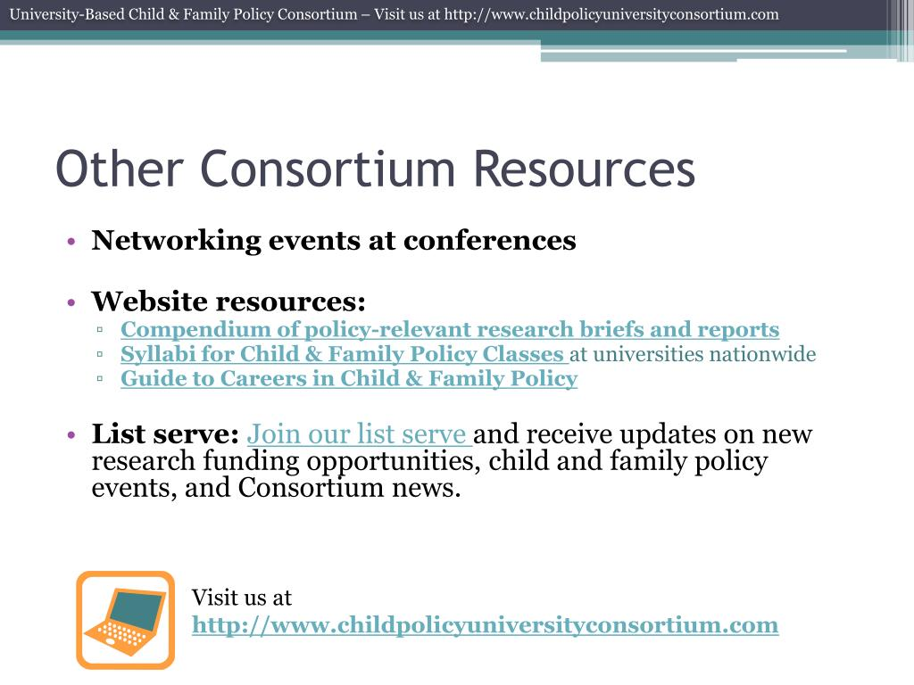 Other Consortium Resources