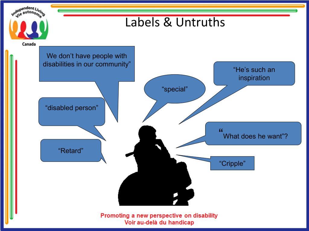 Labels & Untruths