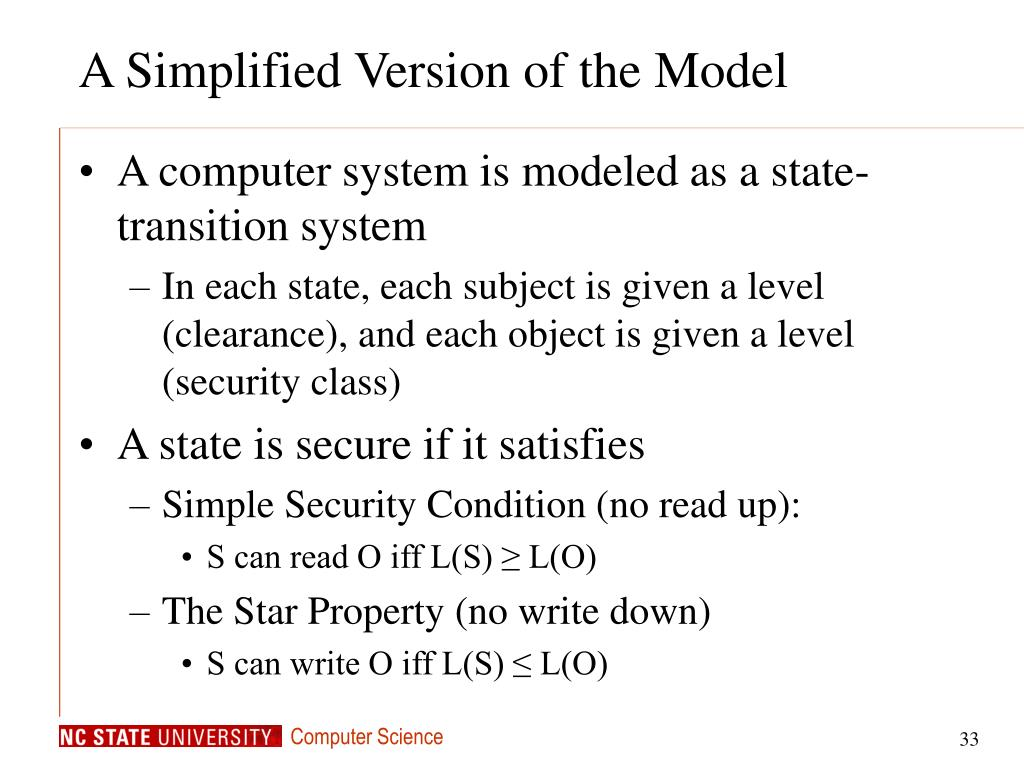 A Simplified Version of the Model