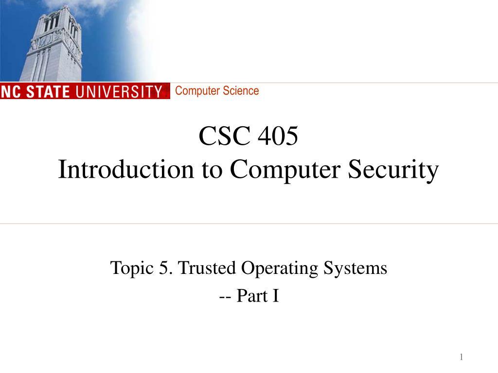 CSC 405