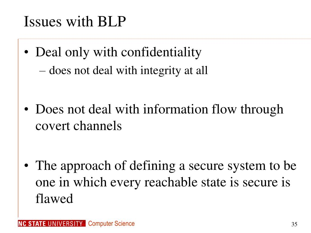Issues with BLP