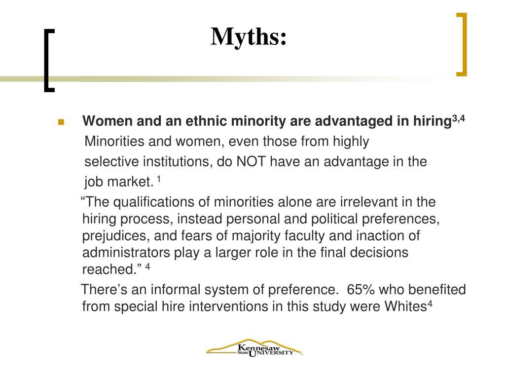 Myths: