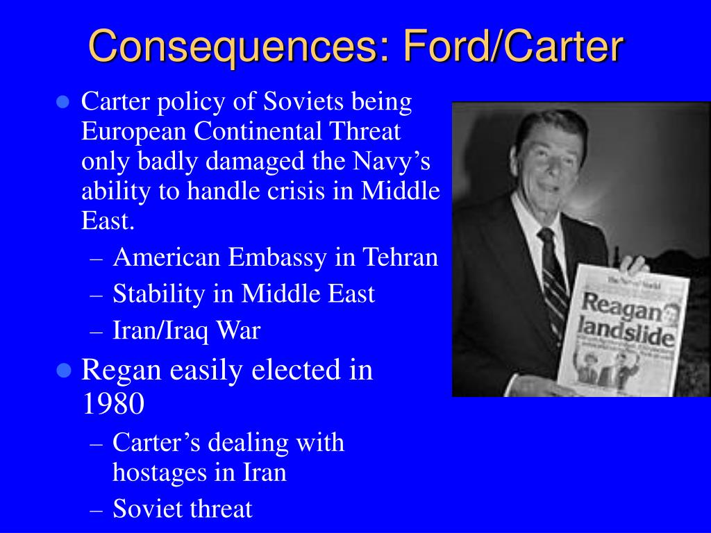 Consequences: Ford/Carter