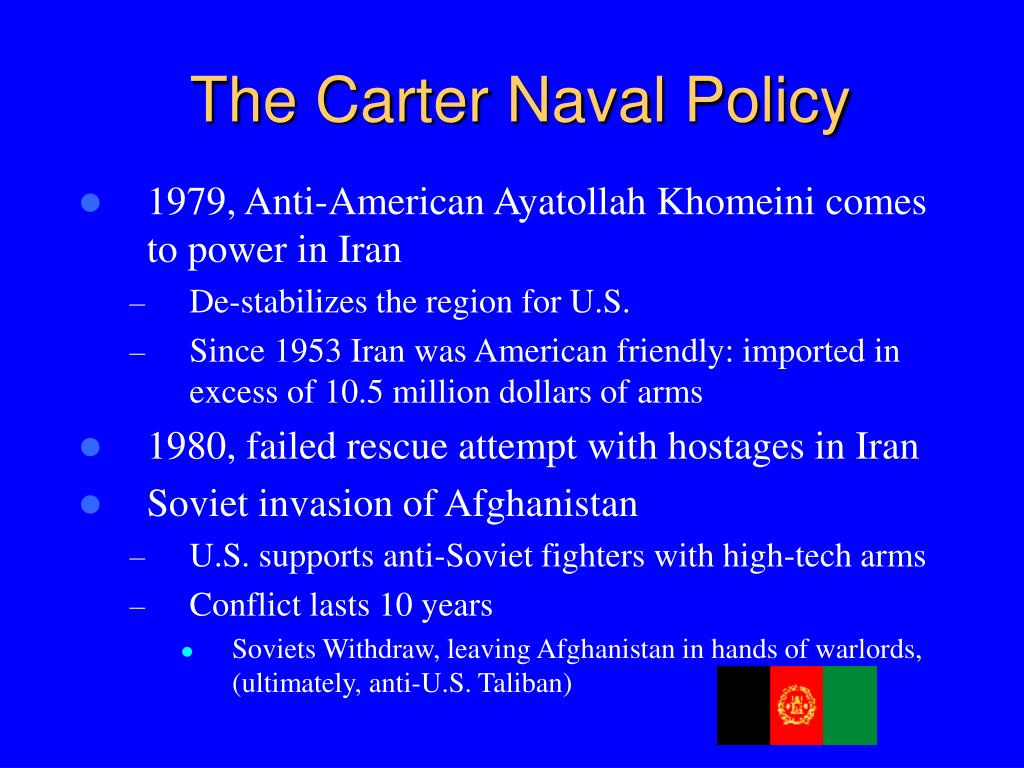 The Carter Naval Policy