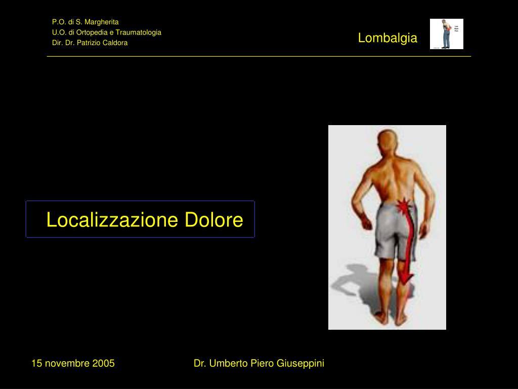 PPT - La Lombalgia ( Low Back Pain ) Linee Guida di..