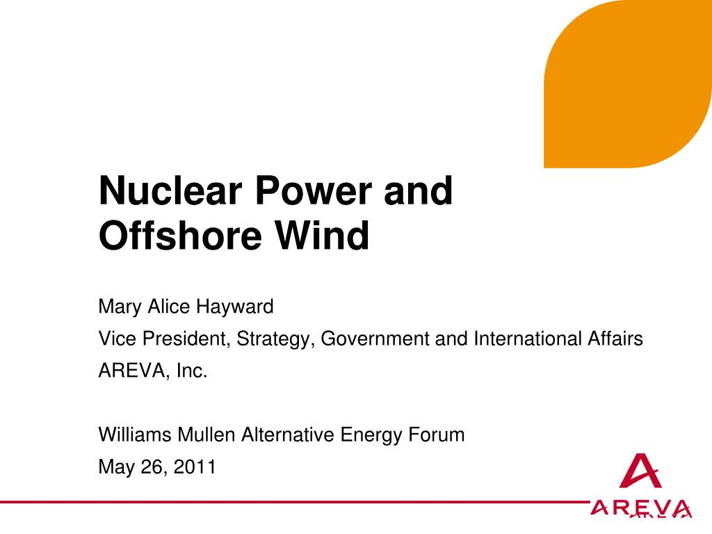 Nuclear Power and Offshore Wind