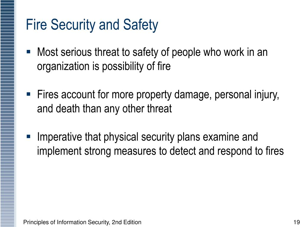 Fire Security and Safety