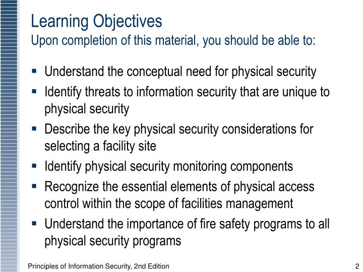 Learning objectives upon completion of this material you should be able to