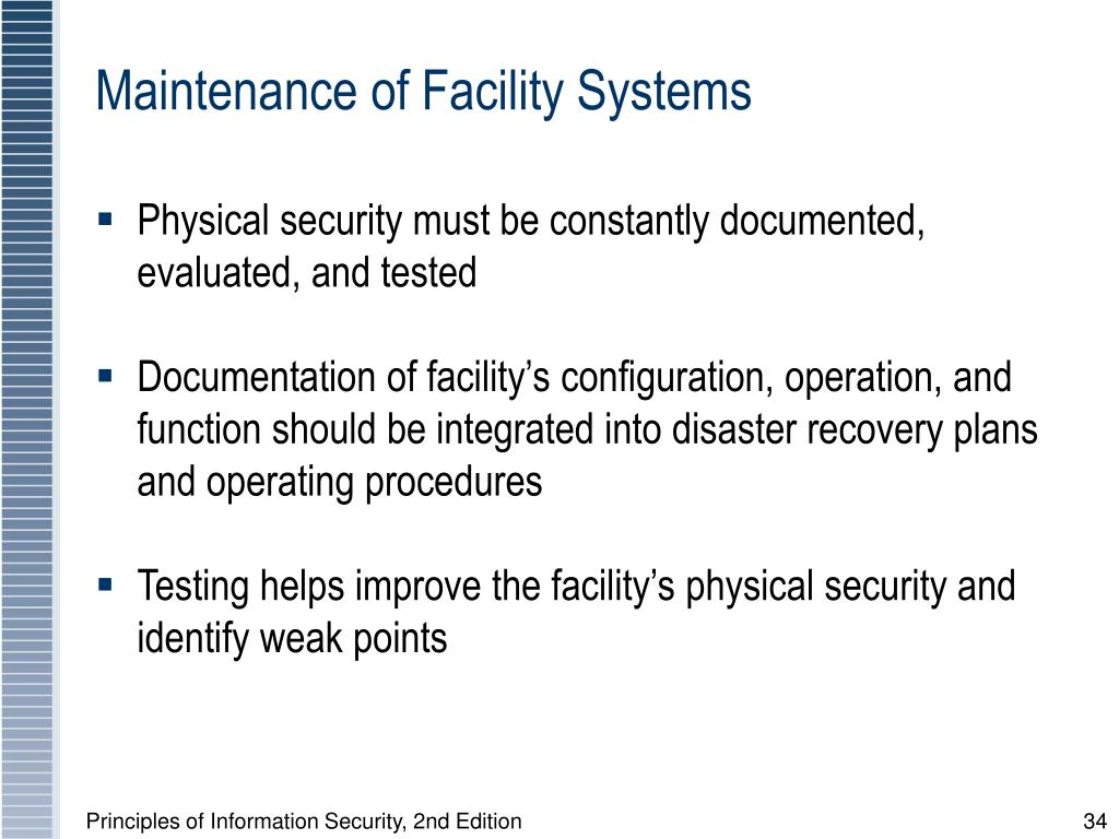 Maintenance of Facility Systems