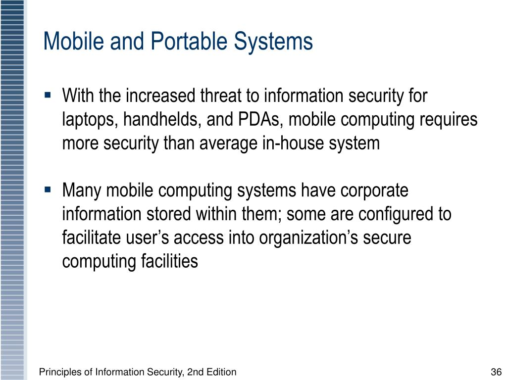 Mobile and Portable Systems