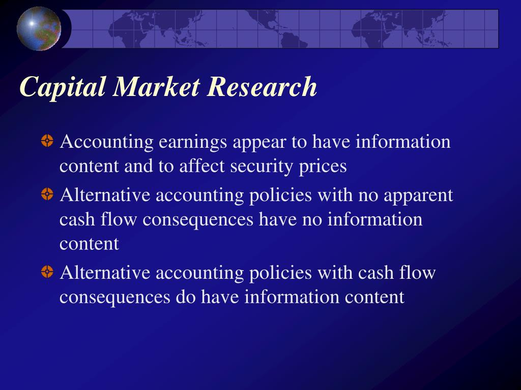 Capital Market Research