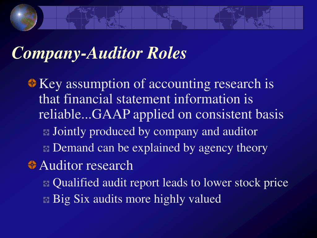 Company-Auditor Roles