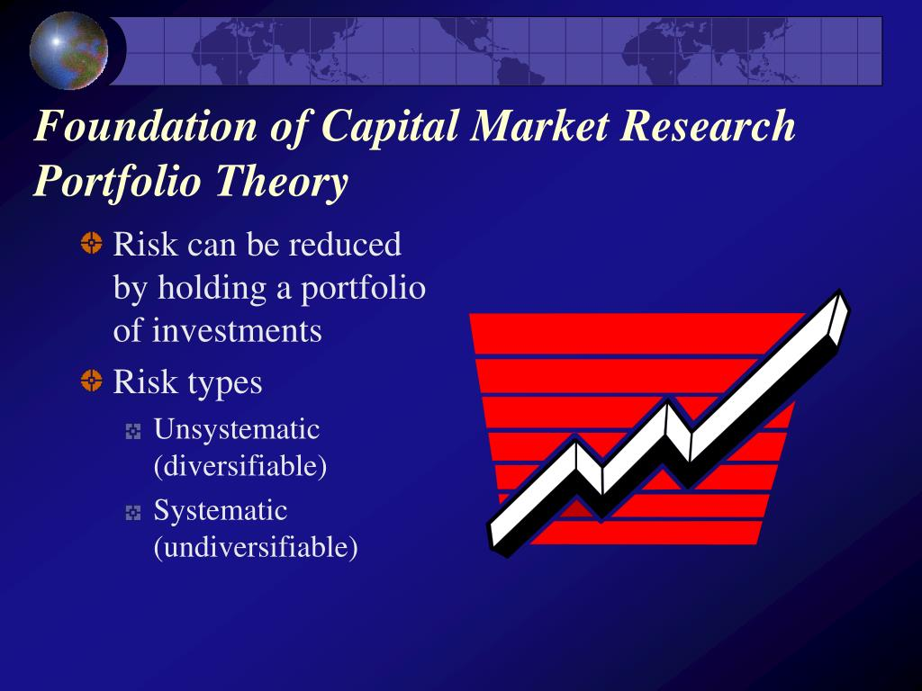 Foundation of Capital Market Research