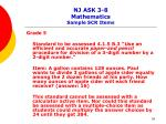 nj ask 3 8 mathematics sample scr items