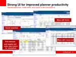 strong ui for improved planner productivity21