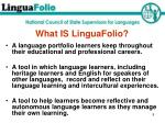 what is linguafolio