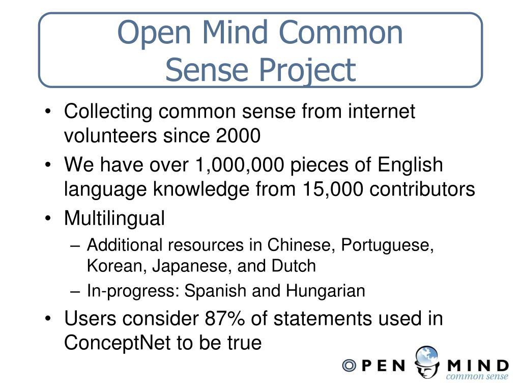Open Mind Common