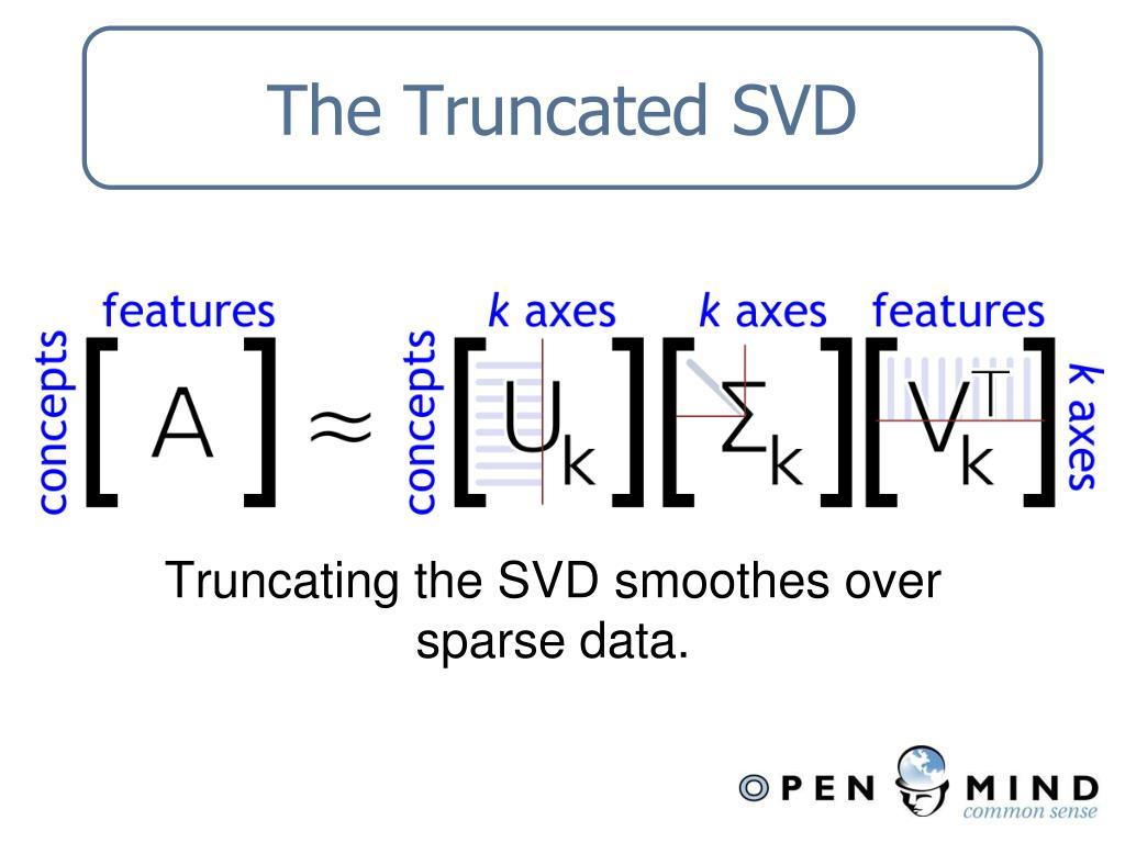 The Truncated SVD