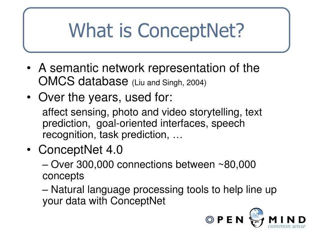 What is ConceptNet?