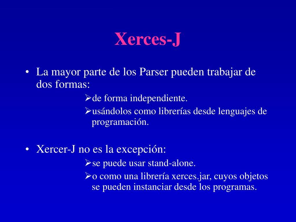 Xerces-J